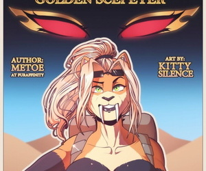 Kitty Silence- Lexi together with the Auric Scepter