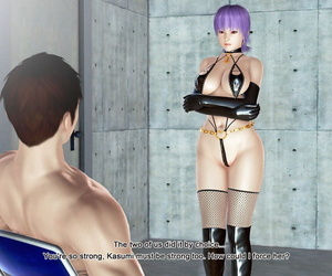 AYA3D- Dead or Alive- Ayane's punishment