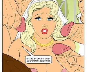 Hotwifecomics – My connubial night gangbang