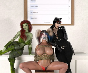 Superheroines- Rude Awakening- Adventures in ENF