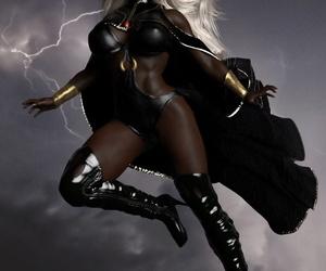 Superheroines- Rude Awakening- Expectations close to ENF