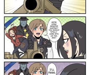 Her favorite weapon – Resident Evil