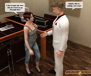 Raunchyschool � Talk at principal�s completes in cum shower for a girl