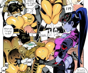 FF29 Suffer Hand Fishine- Ireading OVERTIME!! OVERWATCH FANBOOK VOL.1 Overwatch EnglishColorized