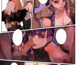 C96 Aoin no Junreibi Aoin Kissing Dicks Union League of Legends Textless