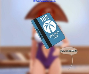 Pool Party 1 - Miss Fortune - part 3