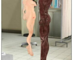 Tira 人体模型の様な男が体操服を着た子供を……