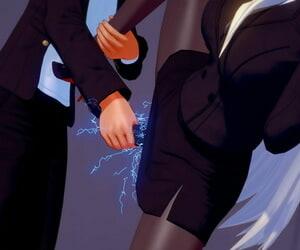 超能女神摩根 人间体电击败北