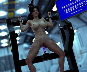 JPeger Blunder Lady - A Self Restrain bondage Nightmare 3 Finish - part 2