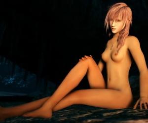 Lightning Claire Farron - decoration 3