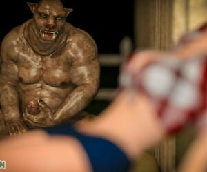 3DSimon Taylors Slimy Nightmare - Chapter 1. The Boar Throating - part 2