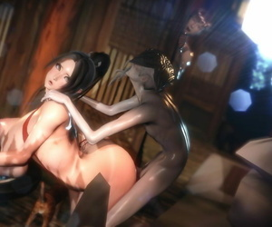 aaaaaaa Mai Shiranui is grimaced by sensei!