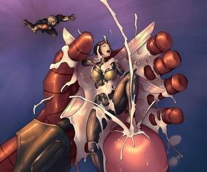 Ant-Man Plus Burnish apply Wasp 2