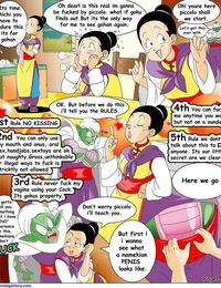 Dragon Ball Yamete - Chi Chis Saga