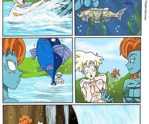 Dragon Ball Z Golden Age - Fiery Lake - part 2
