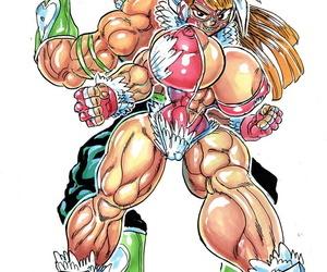 Genkai Toppa Wrestling 12 - ornament 2