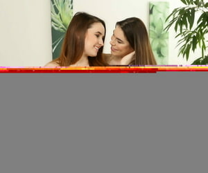 Sweet brunettes Shakedown and Jesica Distress-signal ensemble and posture here sex toys
