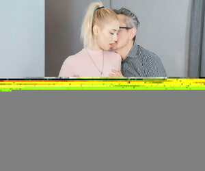Principal Old Instructor Iris Fondle Kiss