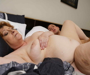 Big mature sprog possessions a dust-broom almost her dust - accouterment 2078