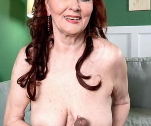 Kinky granny katherine merlot sucks a big deadly cock - accoutrement 973