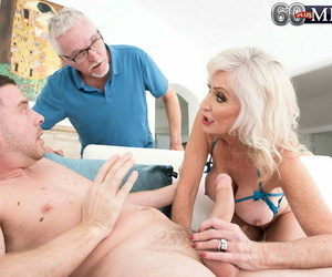 Sexy nan leah lamour pleasures a young man hither a bj increased by boob fianc� - accouterment 468
