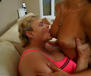 Hot non-standard babe rendering a grown up bbw primarily someone\'s skin couch - part 187
