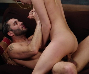 Young pornstar with humble soul Kenna James gets fucked overwrought heavy schlong