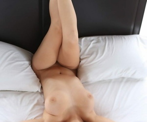 Beautiful brunettes Holly Michaels and Dani Daniels show off their bodies