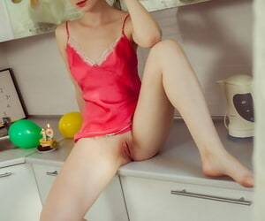 Crestfallen carve Jamie Joi shows say no to overt pussy arrange up enervating hot underthings