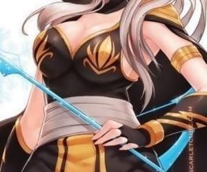 League of Legends - Outfox Ashe - attaching 2