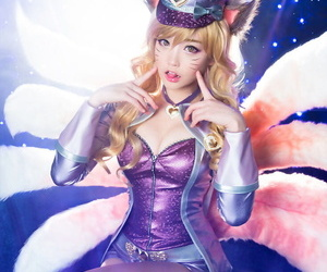 Ahri - League be fitting of Legends