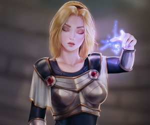 League NTR- Lux the lady of luminosity