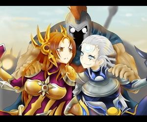 Leona x Pantheon x Diana
