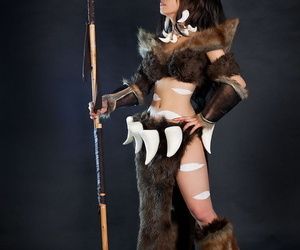 League be advisable for Legends: Lux & Nidalee Cosplay by Miyuko & Tasha