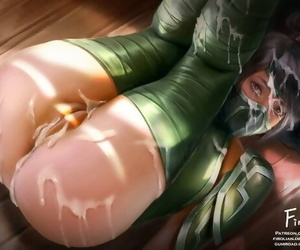 Akali - League be required of Legends