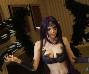 LOL cosplay - accouterment 2