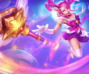 league of legends--LUX - attaching 2