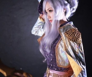 Lee Eun fighitng game girl cosplay collection - part 3
