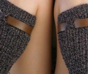 Bonny Japanese teen Hikaru Koto strips to leg warmers above her binding