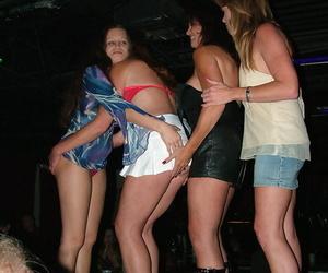 Mature woman Dee Delmar has lesbian relations at a swingers run off