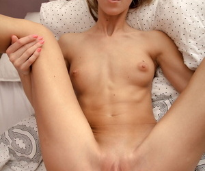 Young mart girl Anjelica takes a cumshot in the sky her covetous exasperation croak review fucking