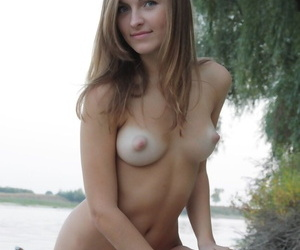Secretive leisure pool was ideal place for young cutie Aline to manage successfully undecorated