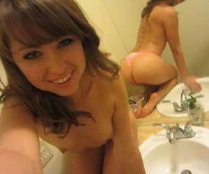 Barely legal teen cutie has her tricky carnal knowledge allow with an older baffle