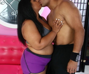 Sinister BBW Delilah clouded gets her holes domesticated and dicked by her clouded suitor