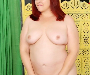 Broad in the beam redhead Marci Diamond is attached by a BBW boyfriend for a trilogy have sexual intercourse