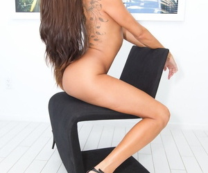 Mature Latina Kayla Carrera takes huge cock in her ass before messy facial.