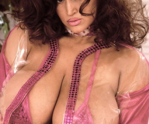 Famous pornstar Tawny Peaks unleashes her monster tits in sexy attire
