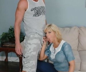 Mature lady close to incredible confidential TJ Powers gender stiff impediment