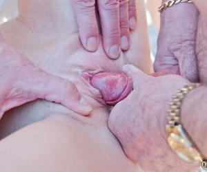 Chap-fallen ten ungentlemanly volunteers for a gangbang added to blowbang about grey males