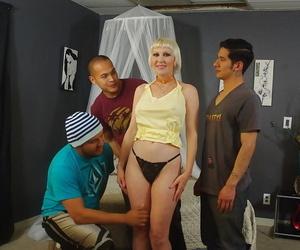 Blonde gangbang brass hats Dalny Marga feeling hot sperm toilet kit on light and ass